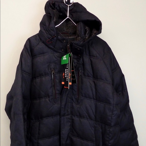 f7eaea8d41d Hawke & Co NY Clarkson Down Quilted Parka w Hood NWT